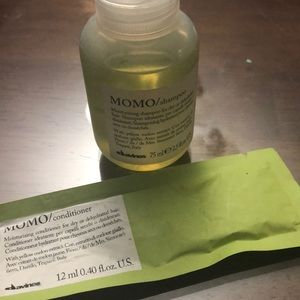 Davines MOMO Shampoo & (2) Conditioner Travel Size